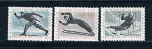 Austria 711-13 MNH Skiing 1963 (A0259)