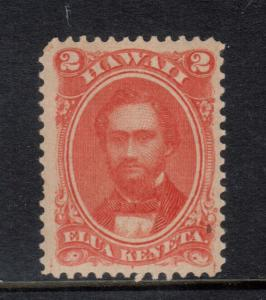 Hawaii #31 Very Fine Mint Lightly Hinged