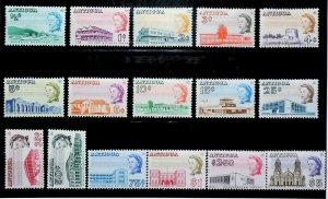 British Colony Antigua 1966-70 Buildings Perf. 11 1/2x12 MH* Full Set 15429