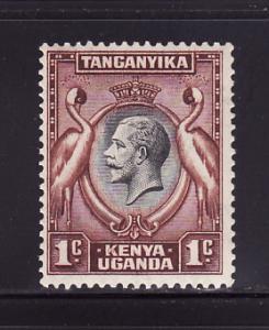 Kenya, Uganda, Tanzania 46 MHR King George V, Birds (C)