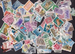 Italy a collection/mix of 150 used + 50 old ones unsorted