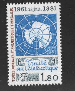 FSAT Scott 94 MNH** Map of Antarctica CV $4.50