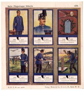 (I.B) Germany Cinderella : Army 25th Anniversary (Flying Corps)