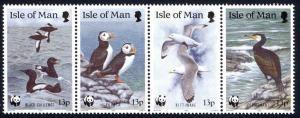 Isle of Man Sc# 402a MNH 1989 World Wildlife Fund