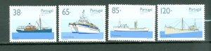 MADEIRA SHIPS #162-165...SET...MNH...$5.15