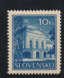 Czechoslovakia (Slovakia, German Protectorate) Stamp Scott #44 Mint Never Hin...