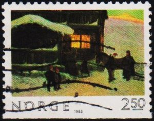 Norway. 1983 2k50 S.G.925  Fine Used