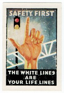 (I.B) New Zealand Cinderella : Road Safety (White Lines)