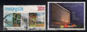 Malaysia Scott 118-119 National Electric Board stamp set
