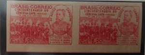 O) 1944 BRAZIL, PROOF IMPERFORATED. GENERAL ANTONIO ERNESTO GOMES CARNEIRO - OF