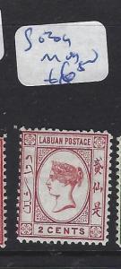 LABUAN   (P2609B) QV  CAMEO  2C  SG 39       MOG