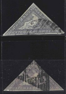 Cape of Good Hope 1858 SC 5 Used SCV $300.00
