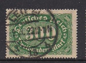 Germany Sc. # 158 Used Inflation Issue Wmk. 125 - L62