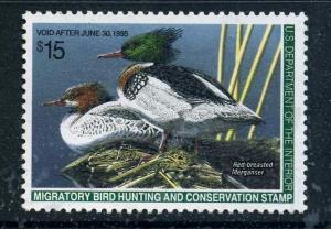RW61 1994 Federal Duck Stamp VFOGNH EBAY LOWEST (RW1-86 in Stock)