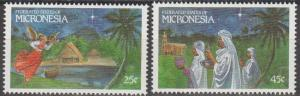 Micronesia #104-5  MNH F-VF  (SU1415)