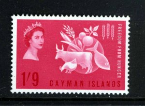 CAYMAN ISLANDS QE II 1963 Freedom From Hunger Issue SG 180 MINT