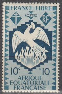 French Eq Africa #143  MNH F-VF   (SU4806)