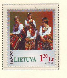 Lithuania Sc 598 1998  Europa stamp mint NH
