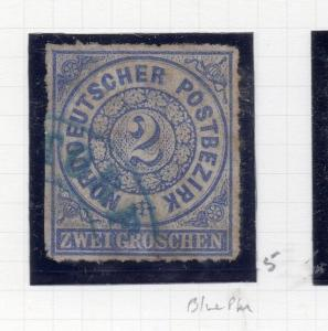 Germany NPD 1868 Early Issue Fine Used 2g. 258546