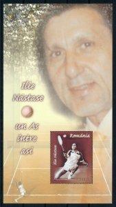 [101543] Romania 2004 Sport tennis Ilie Nastase Souvenir Sheet MNH