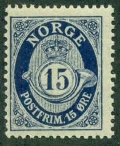 NORWAY #84, Mint Never Hinged, Scott $19.85