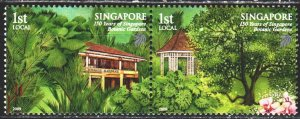 Singapore. 2009. 1868-69 from the series. Botanical Garden in Singapore. MNH.