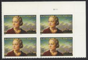 4030,TR, PLATE # BLOCK of FOUR, ** XF**, MINT NH, SHIP $1.00