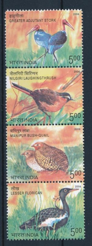 [38167] India 2006 Birds Vögel Oiseaux Ucelli   MNH