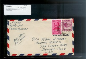 VENEZUELA (46) Different Old Covers Postal History c1940s-1950s