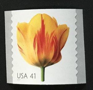 US MNH #4171 Coil Single Tulip Beautiful Blooms SCV $2.00