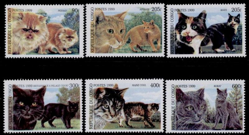 Congo MNH Domestic Cats
