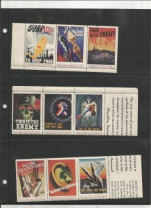 US PATRIOTIC POSTER STAMP COLLECTION