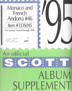 Scott Monaco & French Andorra #46 Supplement 1995