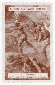 (I.B-CK) Cinderella : National War Savings (VC Series 27) George Moor
