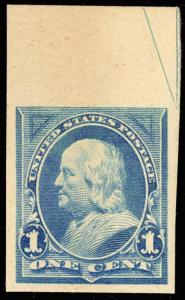 247P4, XF-SUP UPPER RIGHT ARROW PLATE PROOF ON CARD