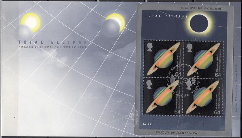 Great Britain - 11.08.1999  Space FDC  (33)