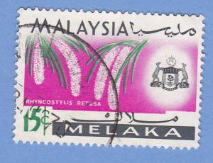Malaysia-Malacca 72 Used - Rhyncostylis Retusa