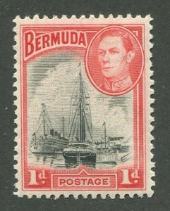 BERMUDA #118a MINT NH