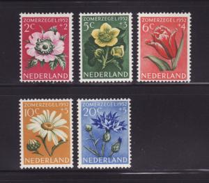 Netherlands B238-B242 Set MH Flowers