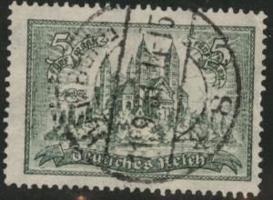 Germany Scott 350 used 1925  Speyer Cathedral stamp CV$14.50