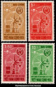 Vietnam Scott 235-238 Mint never hinged.