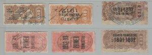 Uruguay fiscal revenue stamp 5-19-20-81