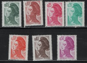 FRANCE  1783-1789   MNH LIBERTY ISSUE 1982