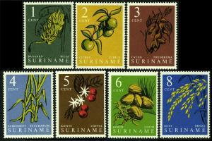 1961 Surinam 389-395 Flowers