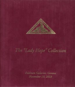 The Lady Hope Collection of Cape of Good Hope Triangles, 2003 Feldman Auction