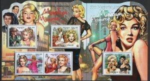 Solomon Islands Scott 1165 Souvenir Sheet MNH! Marilyn Monroe!