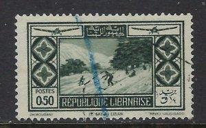 Lebanon C49 Used 1936 issue (ap6488)