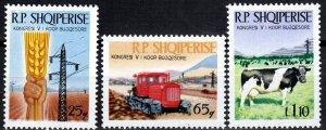 Albania #1124-6 MNH CV $4.40 (X2571)