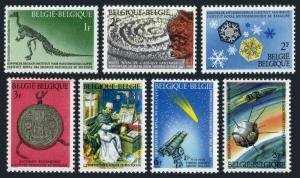 Belgium 664-670,MNH.Michel 1427-1433. Natl scientific heritage,1966.Igaunogon,