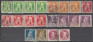 COLLECTION LOT OF #1206 BAVARIA 20 STAMPS 1920 CLEARANCE CV + $27